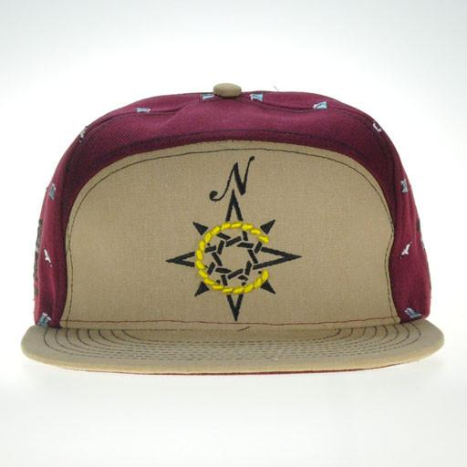North Coast 2014 Tan 6 Panel Strapback - Grassroots California
