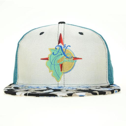 North Coast 2015 White Snapback - Grassroots California - 1