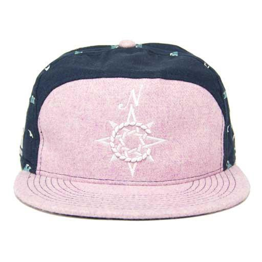 North Coast Music Festival 2013 Pink/Navy Fitted Hat
