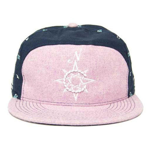 North Coast Music Festival 2013 Pink/Navy Fitted Hat - Grassroots California
