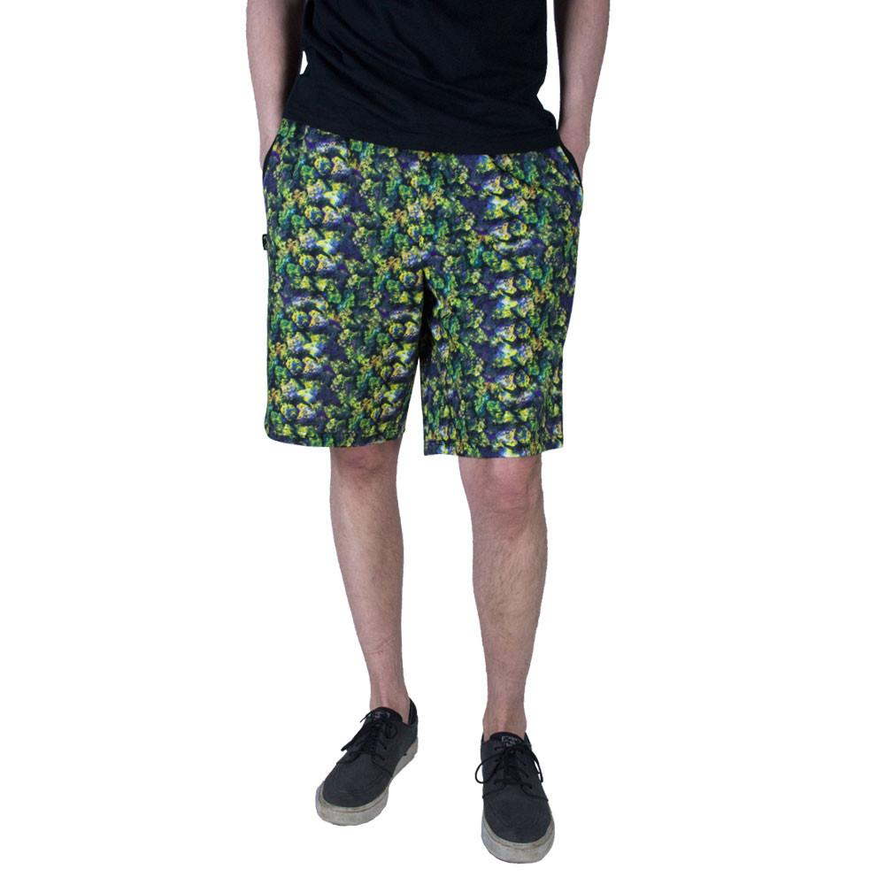 Oil Paint Weed Chiller Shorts
