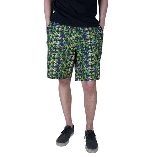 Oil Paint Weed Chiller Shorts - Grassroots California