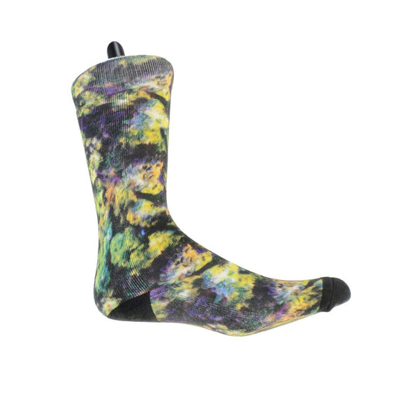 Oil Paint Weed Socks - Grassroots California - 1