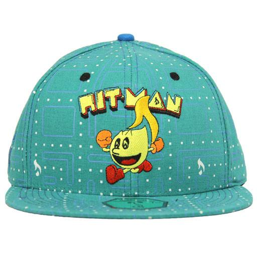 PacMan Hitman Glass Teal Fitted