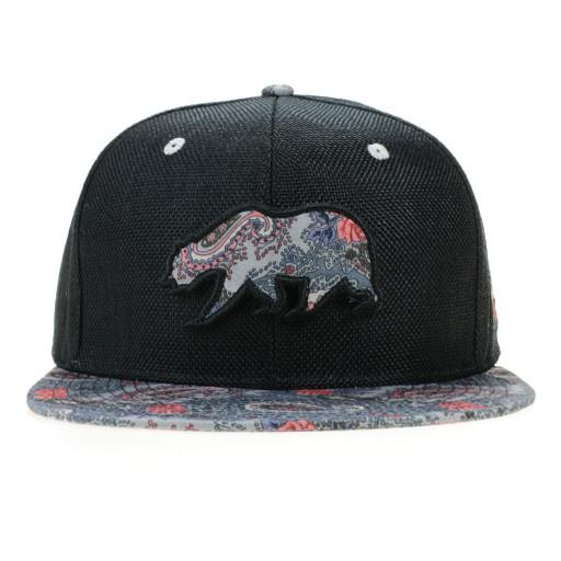 Paisley Red Black Removable Bear Fitted