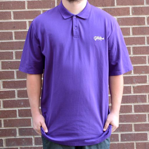 Purple Royal Roots Collared Shirt