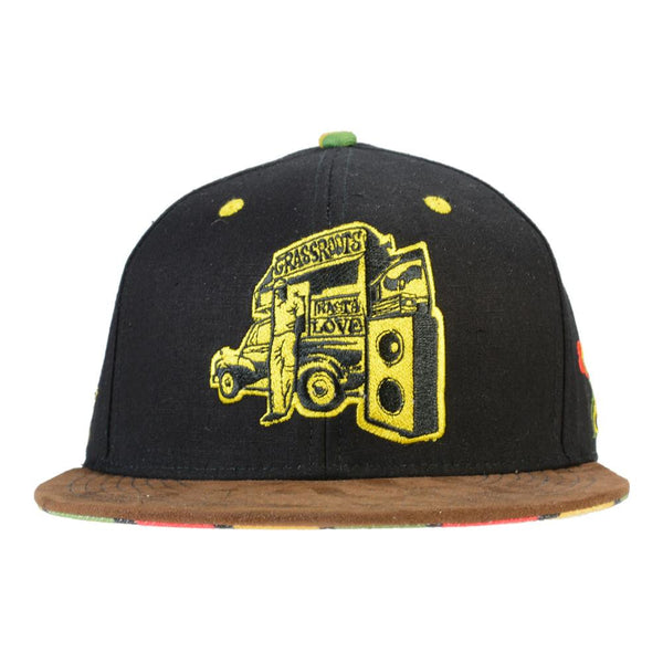 RastaRoots Fitted - Grassroots California - 1