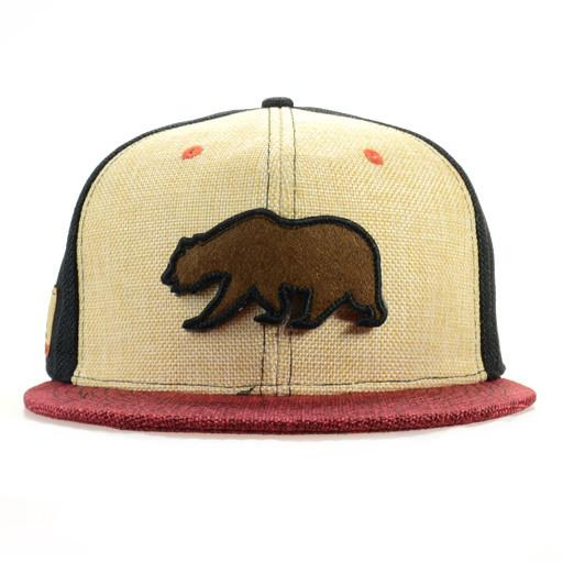 Removable Bear 2015 Simple Tan Red Fitted - Grassroots California