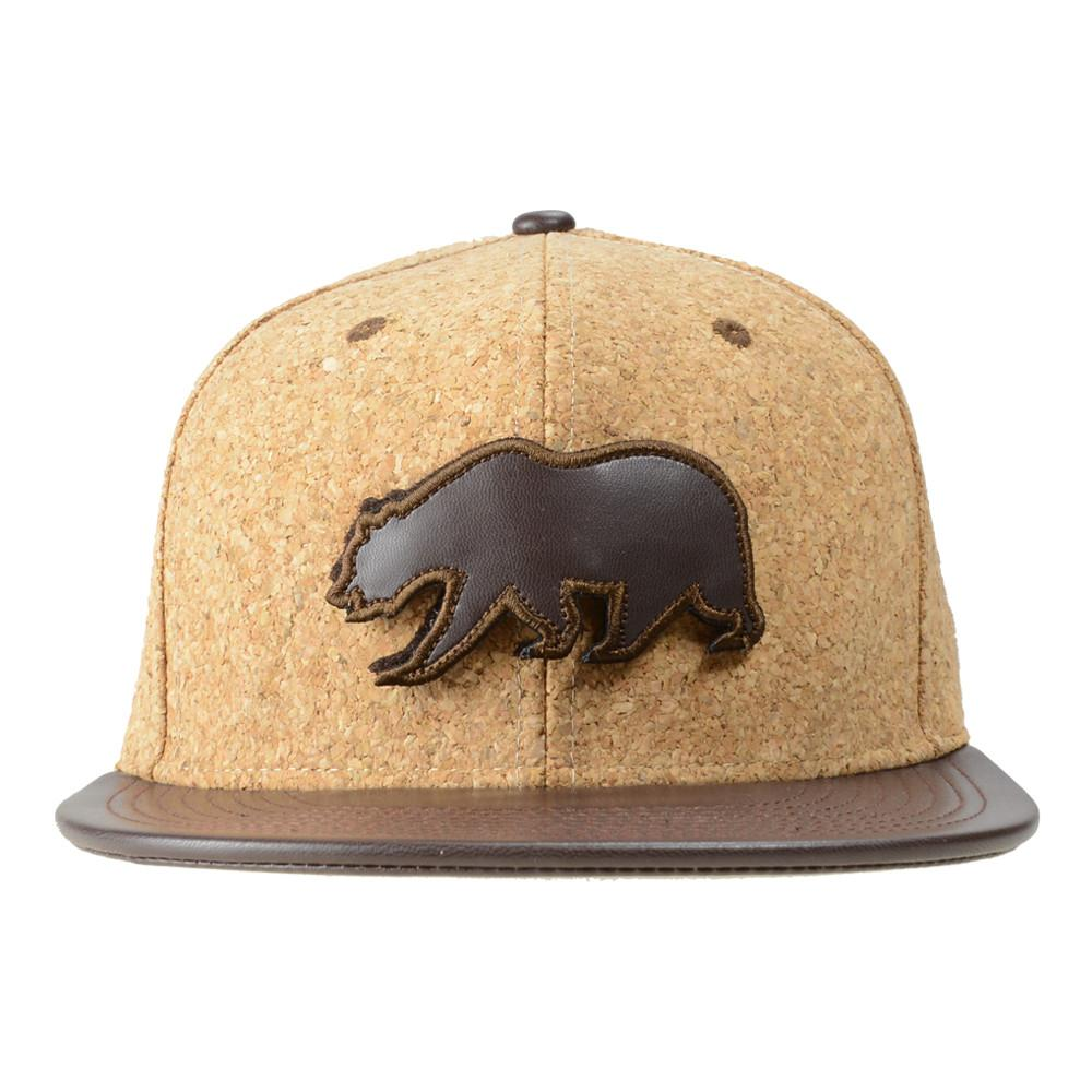 Removable Bear Cork Snapback