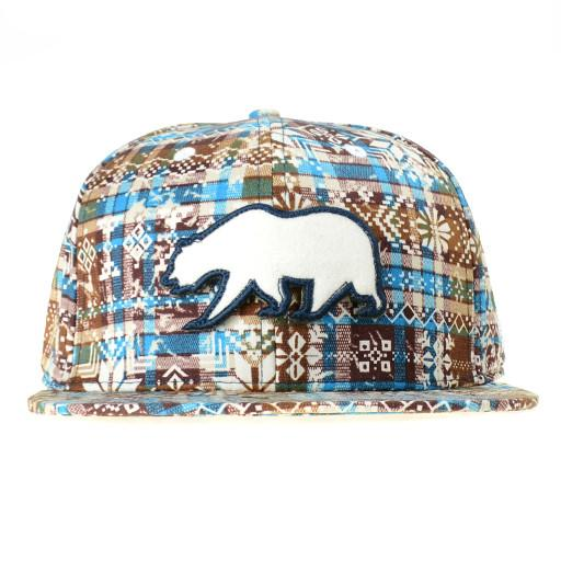 Removable Bear Holiday Snapback