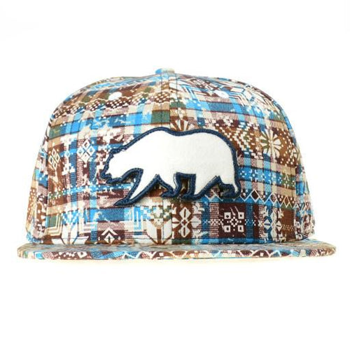 Removable Bear Holiday Snapback - Grassroots California - 1