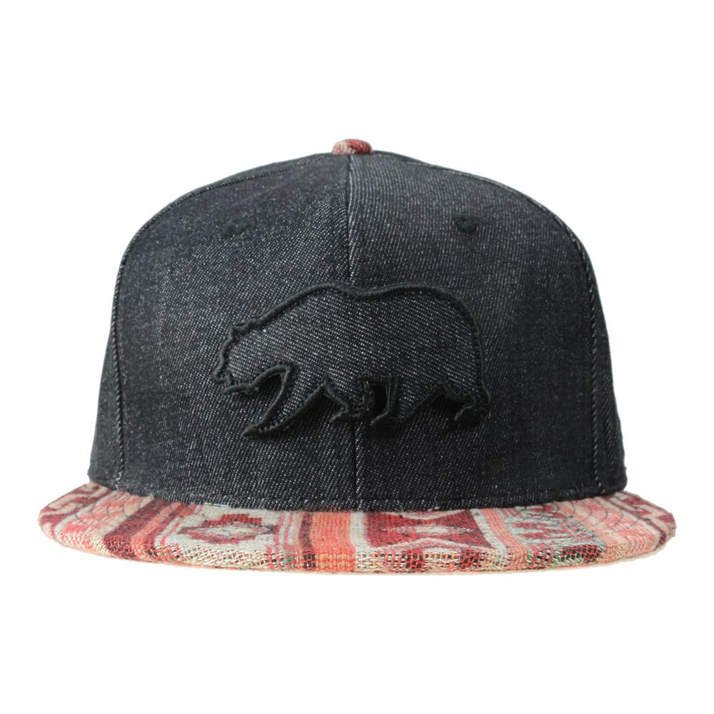 Removable Bear Mayan Andes Denim Fitted