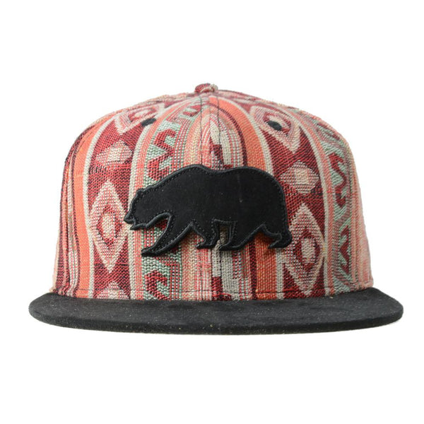 Removable Bear Mayan Andes Snapback - Grassroots California - 1