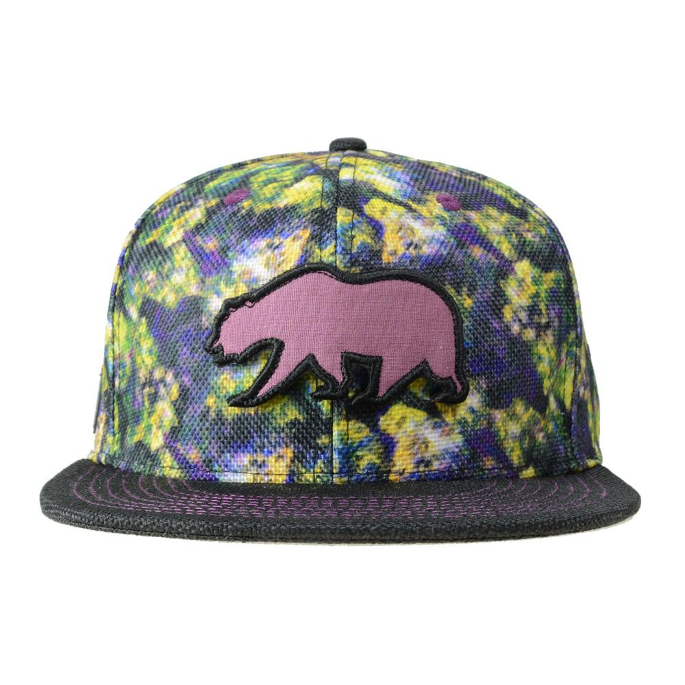 Removable Bear Oil Paint Weed Snapback