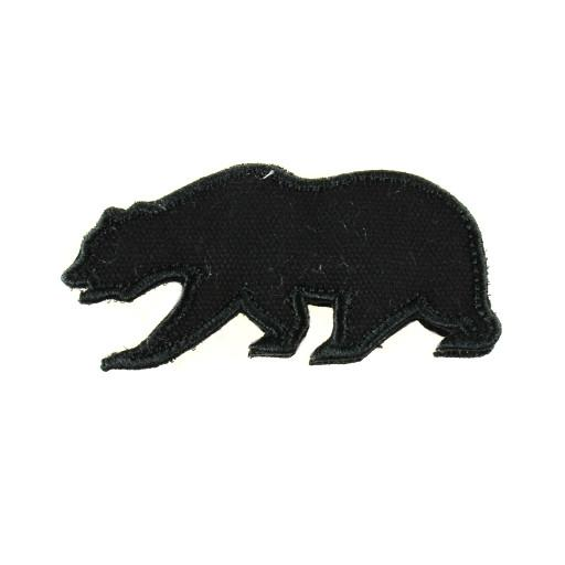 Removable Bear Patch Black Touch of Class - Grassroots California