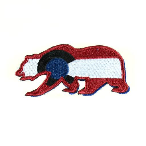 Removable Bear Patch Colorado Avalanche