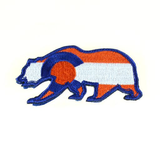 Removable Bear Patch Colorado Broncos - Grassroots California