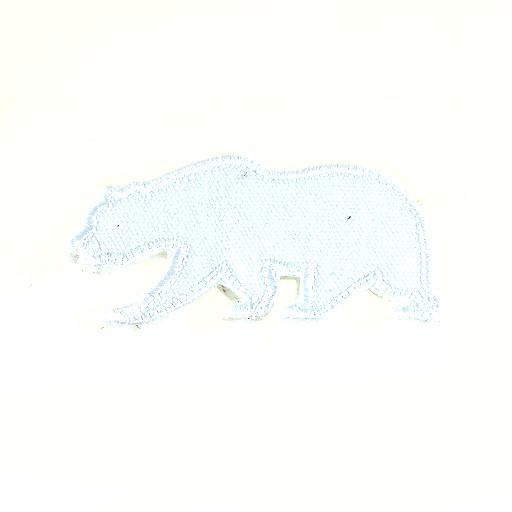 Removable Bear Patch White Touch of Class - Grassroots California