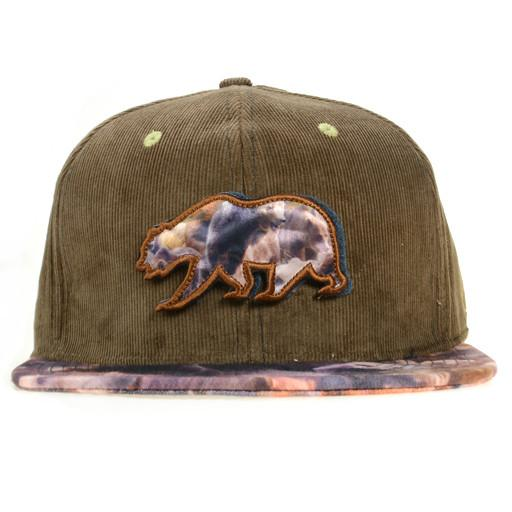 Removable Bear Real Print Fitted - Grassroots California - 1