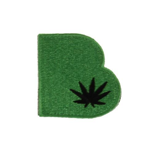 Removable Bolder Extracts Green Leaf Patch - Grassroots California