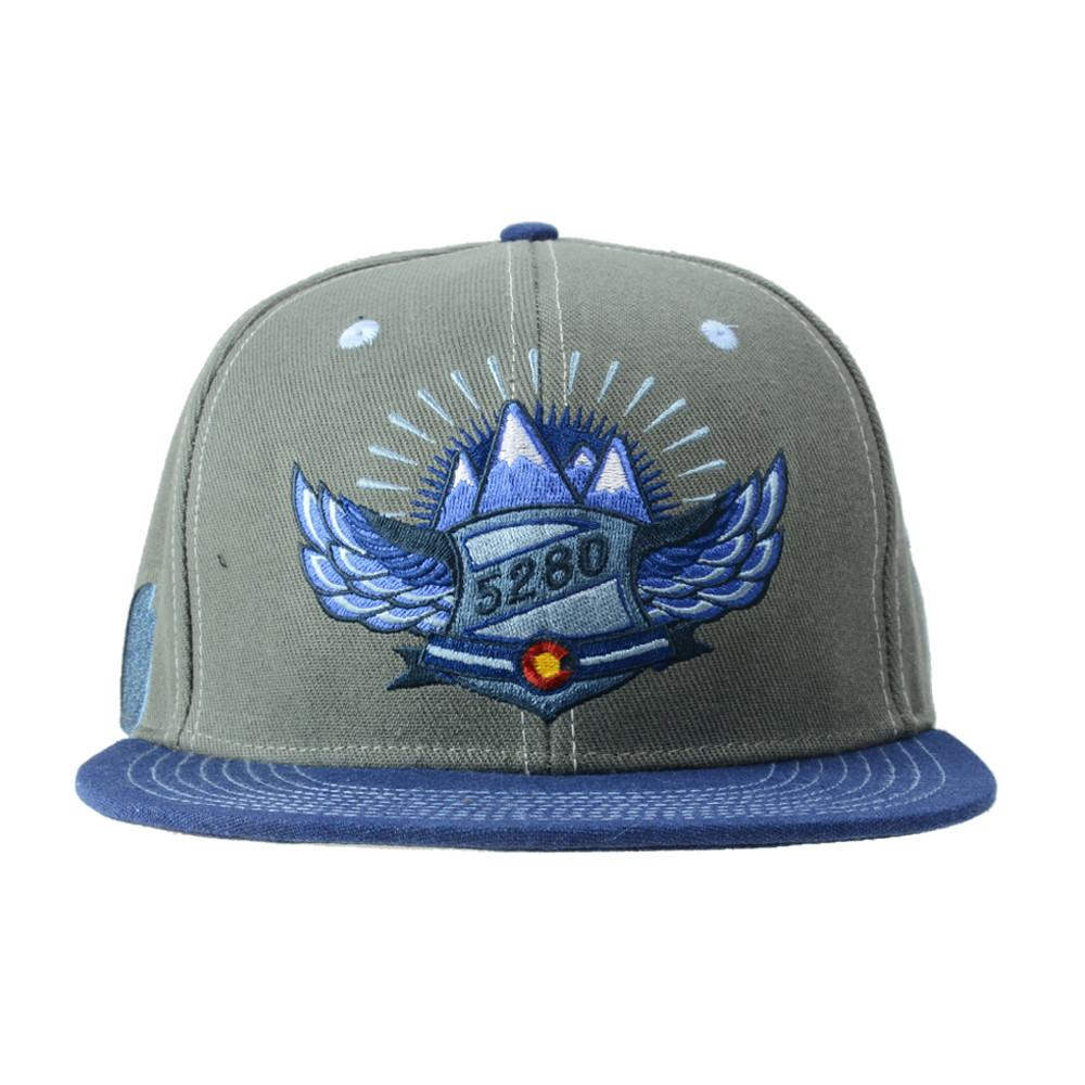 Rocky Mountain High Life Gray Fitted
