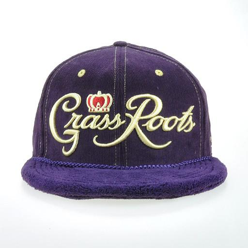 Royal Roots Purple Terry Fitted