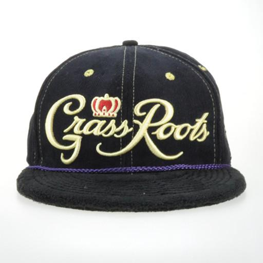 Royal Roots Black Terry Snapback