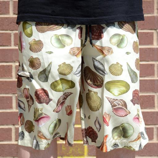 Turner Sprout Seashell Board Shorts - Grassroots California