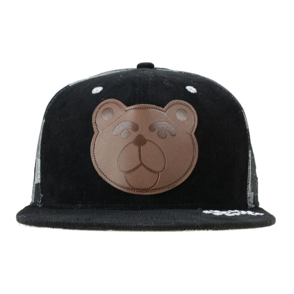 Shurlok Holm Leather Bear Snapback - Grassroots California - 1