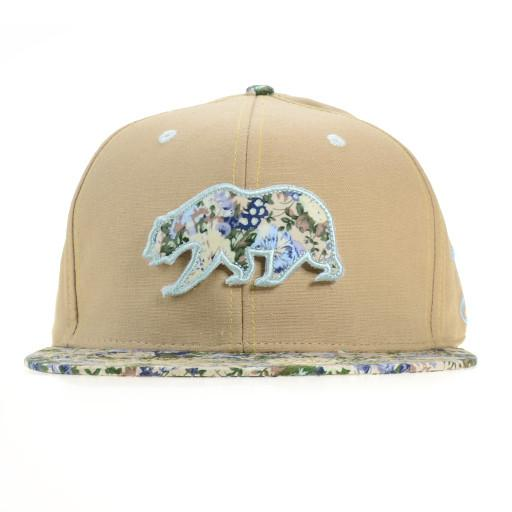 Small Floral Removable Bear Fitted