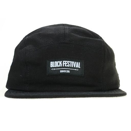 Snowboard on the Block 2015 5 Panel Snapback