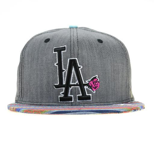 So Gnar LA Denim Aztec Snapback