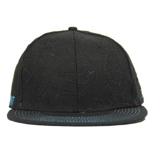 Soapoint Black Blue Fitted