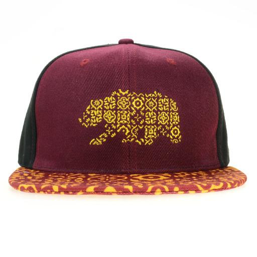 Spain Bear Red Black Fitted - Grassroots California