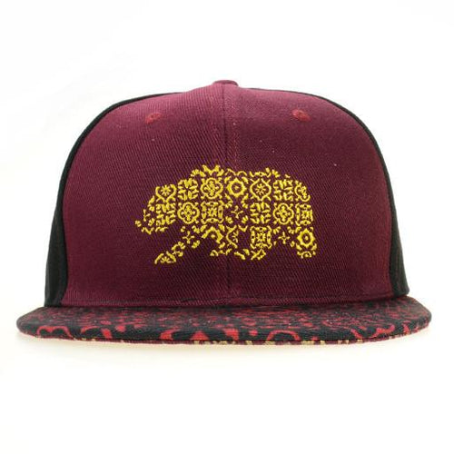 Spain Bear Black Snapback - Grassroots California