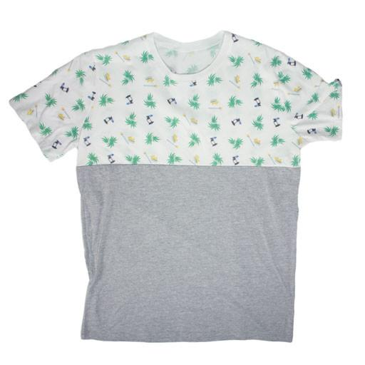 Split Tee Gray - Grassroots California