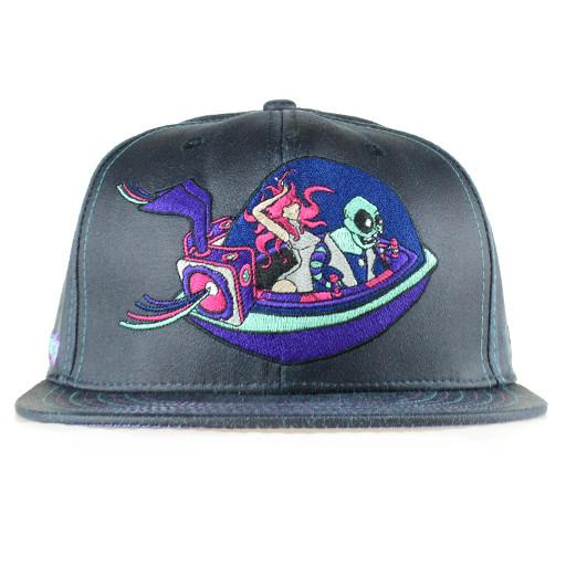 Subliminal Tactix Space Funk Black Snapback