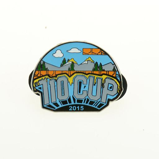 The 710 Cup 2015 Logo Pin