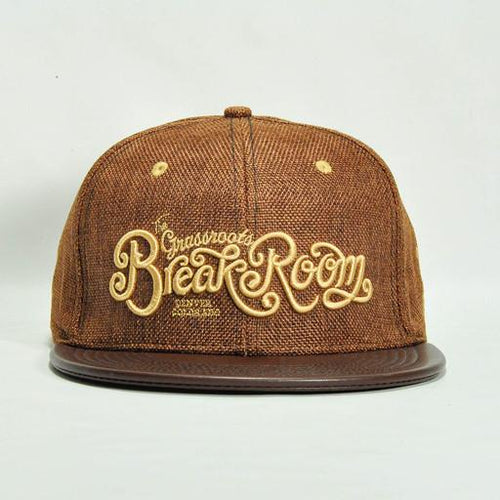 Break Room Brown Fitted - Grassroots California