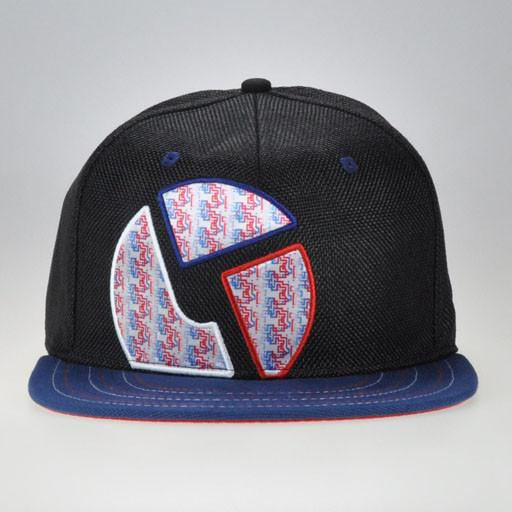 The Disco Biscuits Black Red/White/Blue Fitted
