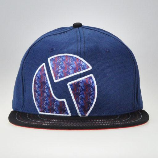 The Disco Biscuits Navy Red/White/Blue Fitted