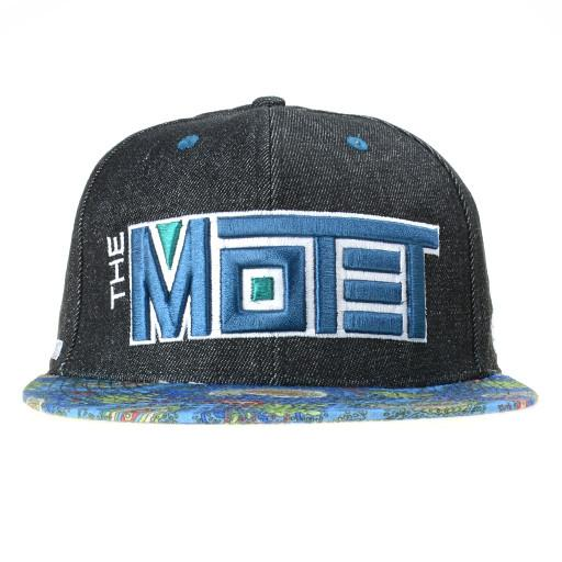 The Motet Denim Paisley Strapback