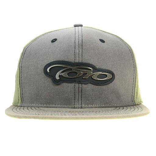 Toro Glass Gray Strapback - Grassroots California - 1