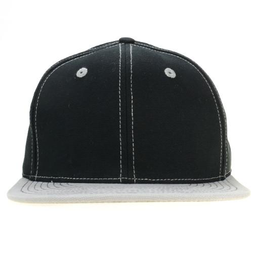 Touch of Class Black Gray Fitted - Grassroots California - 1