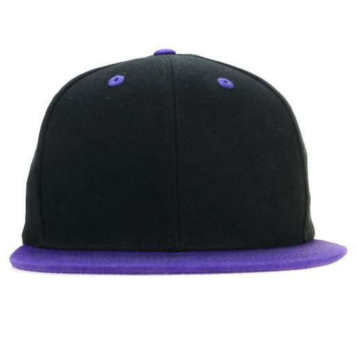 Touch of Class Black Purple Snapback - Grassroots California - 1
