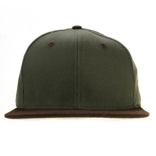 Touch of Class Green Brown Fitted - Grassroots California - 1