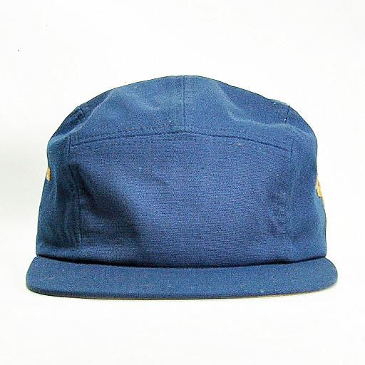 Touch of Class - Navy 5 Panel Strapback - Grassroots California - 1