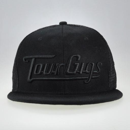 TourGigs Black Snapback