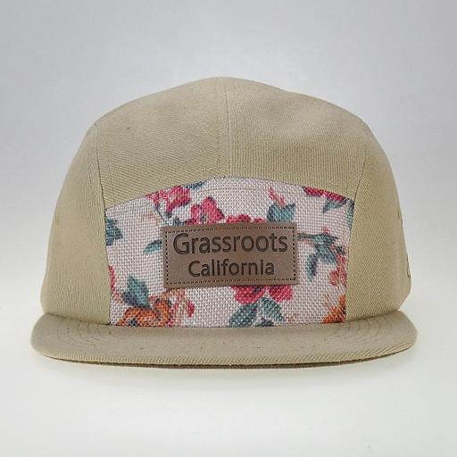 Turner Sprout 5 Panel Tan Strapback