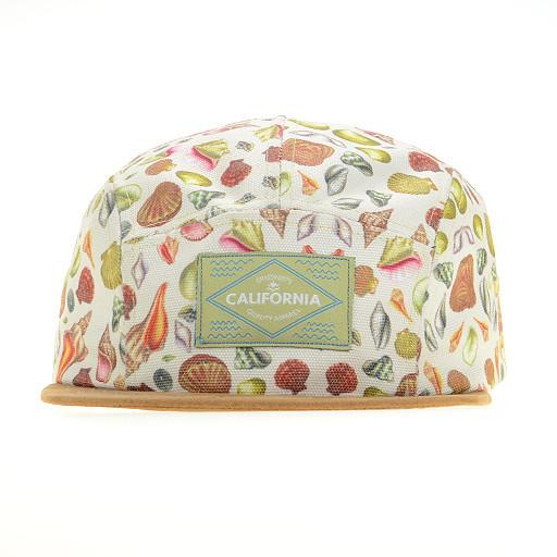 Turner Sprout Seashell Tan 5 Panel Strapback